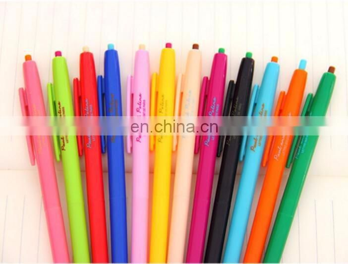 Slim Retractable Gel Ink Pen Multi Colors
