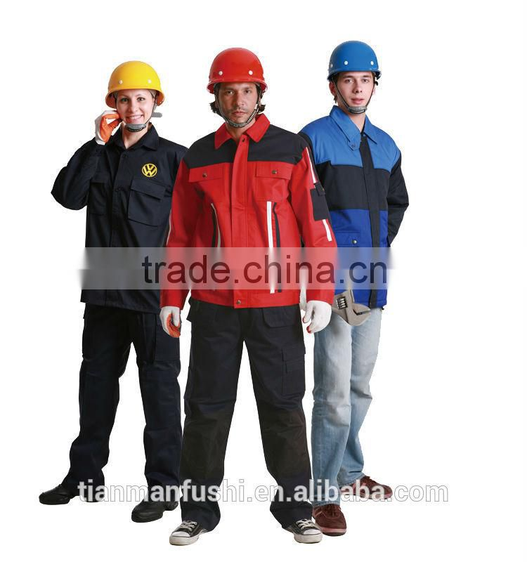 2015 Hard Wearing Workwears Customed High Quality Work Cloths Wholesale Man Work Uniform