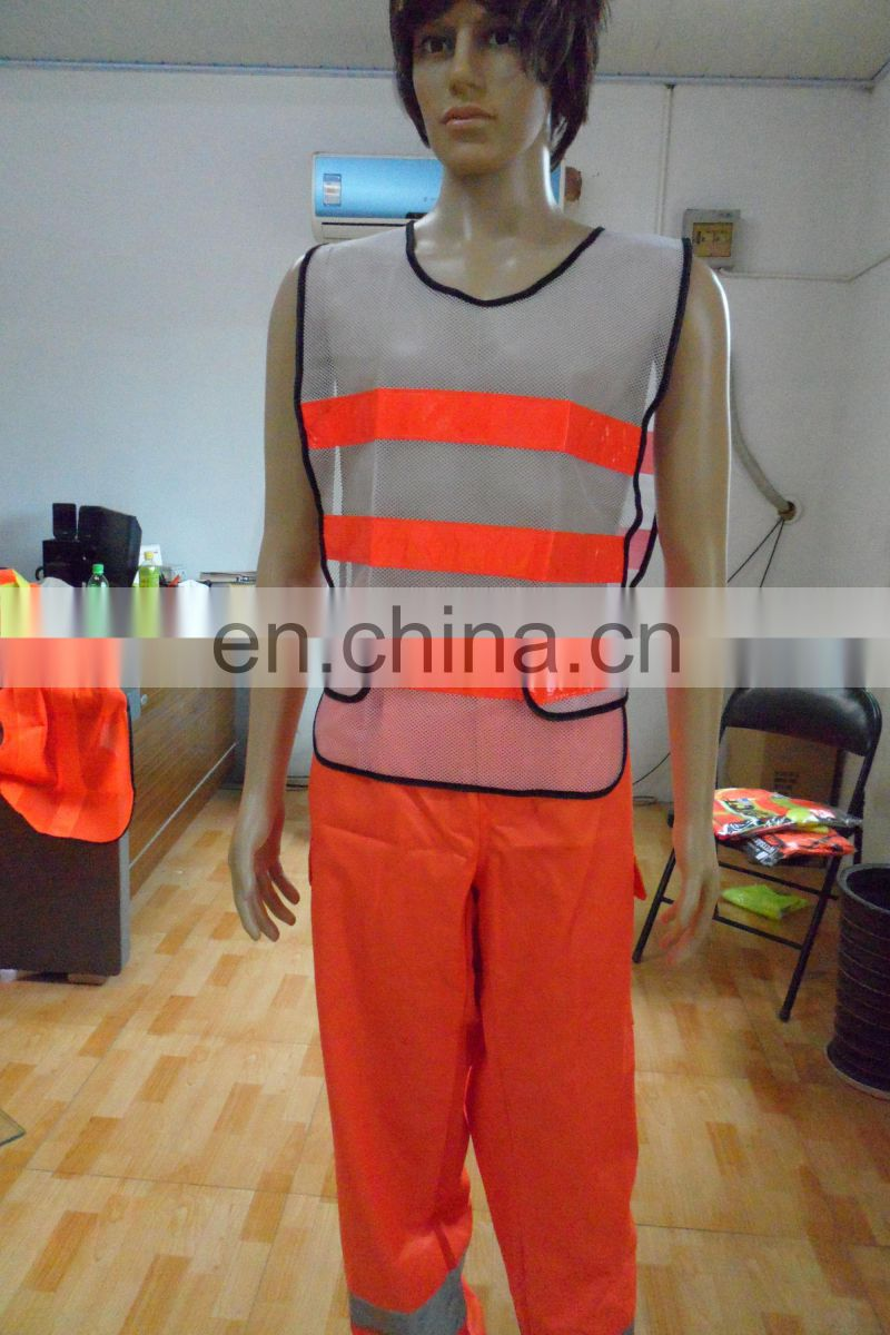 security vest made for child with high visibility reflective tape