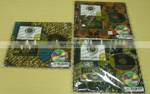 100% Cotton African Wax Prints Fabric Hitarget Wax Prints Real Wax