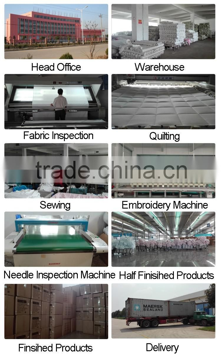 Alibaba express shipping cotton polyester pillow bulk products from china