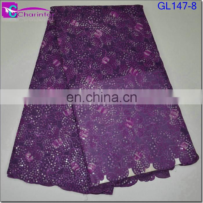 african organza lace fabric GL147