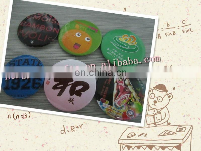 Round Tinplate Button Badges