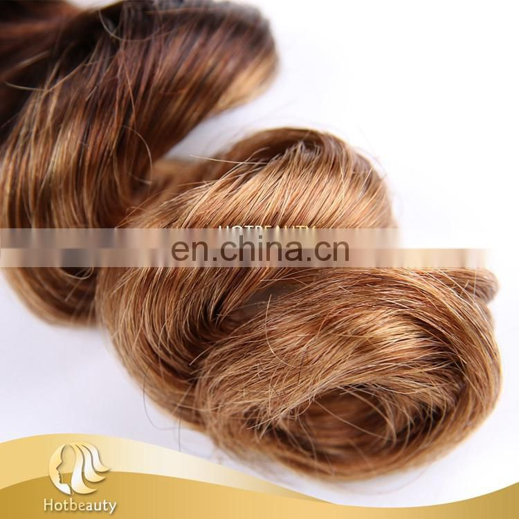 3 tone natural weave Peruvian human hair 10-28 inch in stock