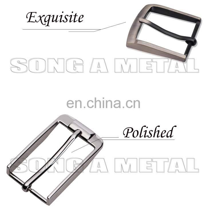 Superb High End Fashion electro-coating Zinc alloy hat strap buckle