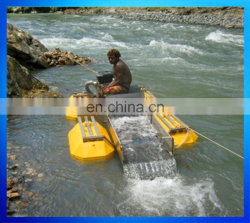 Cheap mini /small gold dredger for sale with good quality