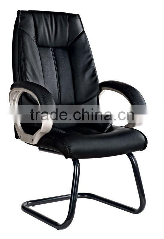 middle bentwood leather swivel chair