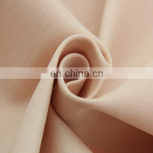 high spandex fabric 30% polyester 70% cotton in cheap price