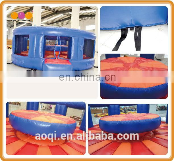 AOQI Roman style outdoor inflatable interactive gladiator games for adults