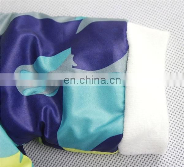 Hot selling fashion prints winter soft and warm pet cloth for dogs
