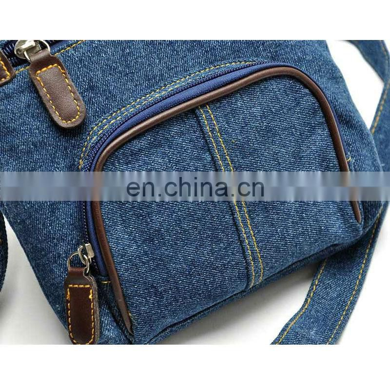 2016 fashionable womens denim messenger bags