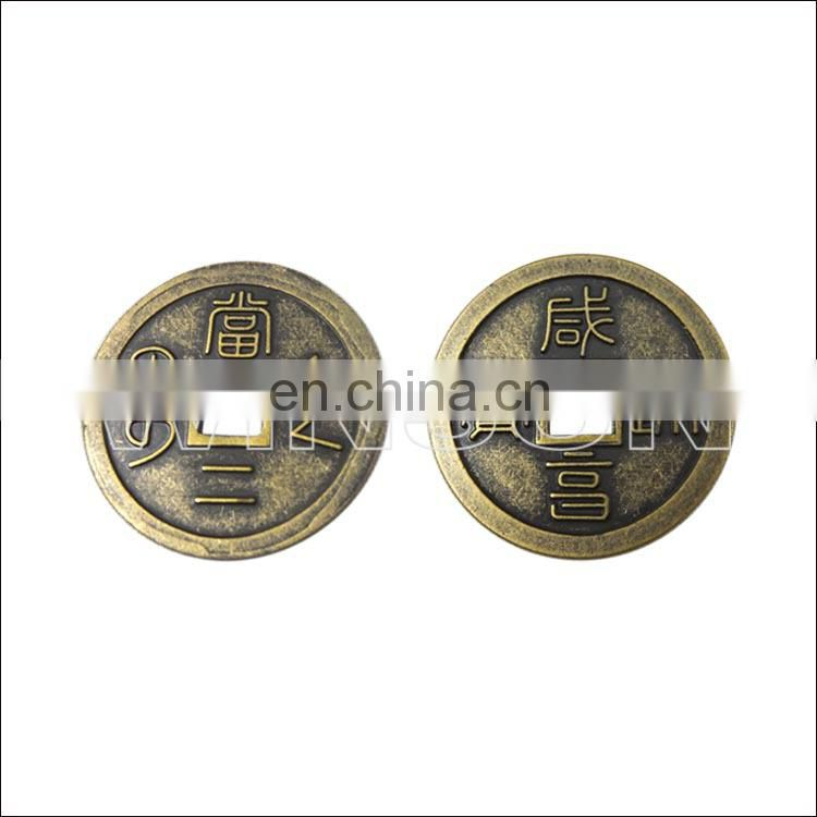 custom gold plated metal coin