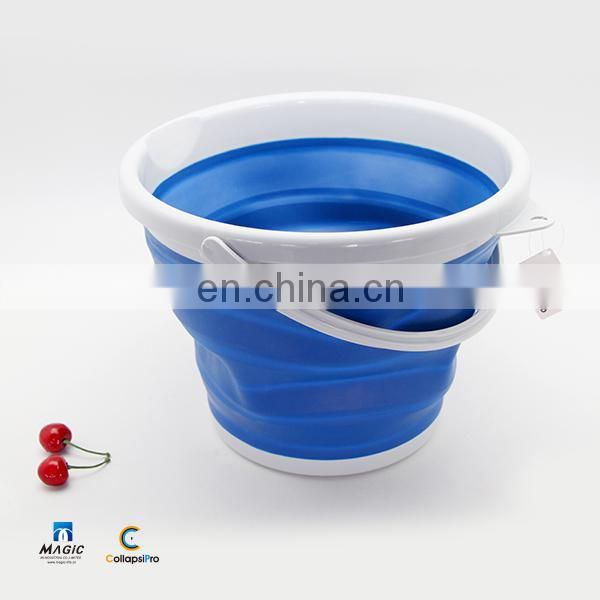 10L Collapsible Plastic Bucket