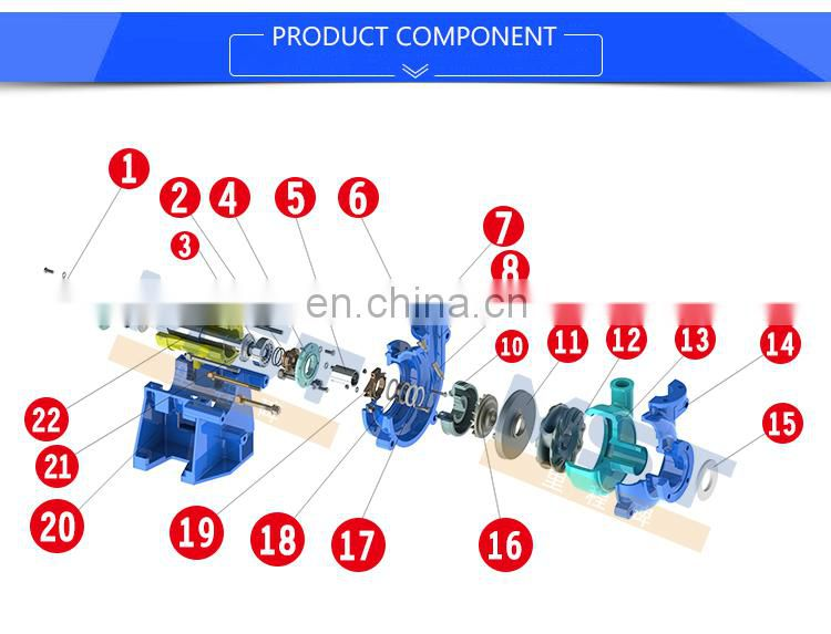 China electric portable mud pump price