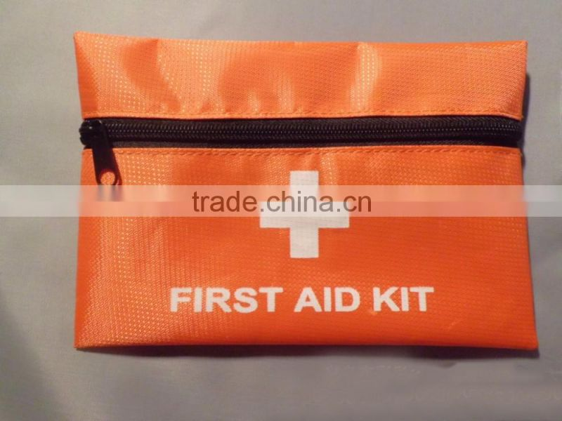 Portable Belt First Aid Kit Bag for car/travel/sports/promotional purpose