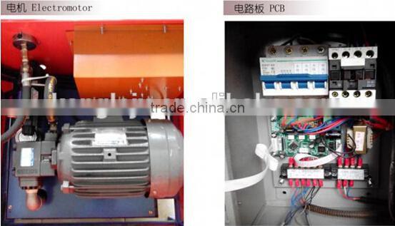 Hydraulic Steel punch press machine / Pipes hole punching machine of