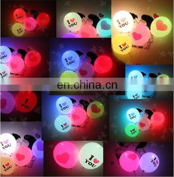 12inch led balloon valentine day decoration party
