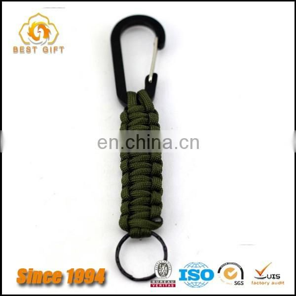 Outdoor Key Chain Black Fast Mountaineering Carabiner