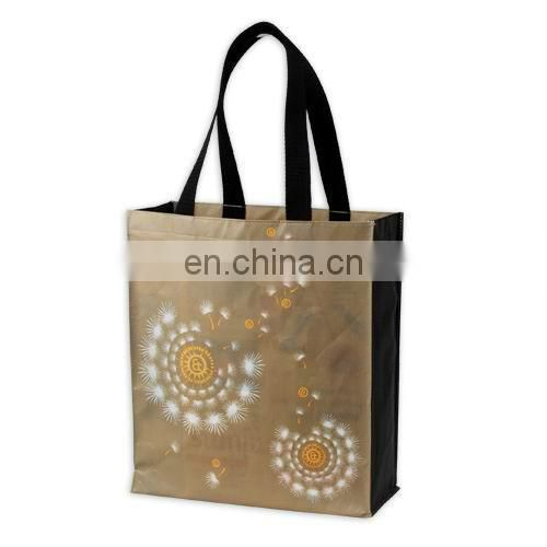colorful shopping advertising non-woven bag for promotion