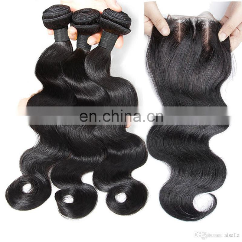 Guangzhou brazilian hair body wave human hair bulk