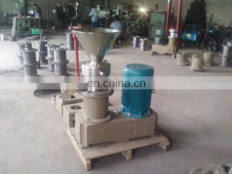 peanut butter machine Stainless steel peanut butter machines nut butter grinding machine