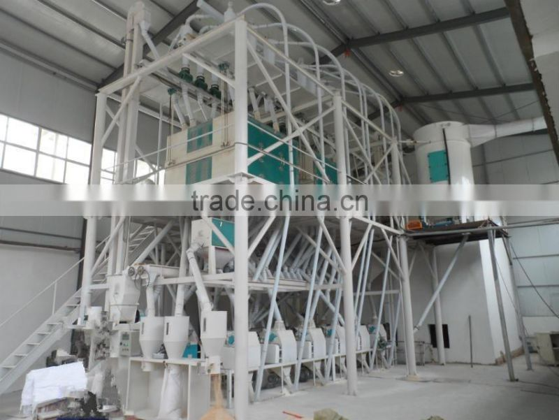 China supplier wheat flour mill plant machine for hot sale with low price