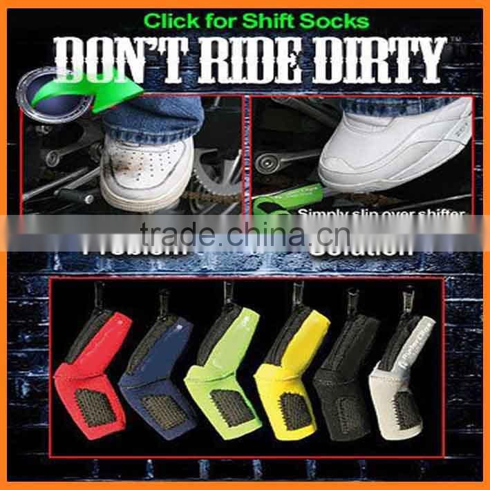 Shift Sock Motorcycle Gear Shoe Protector Sport Bike Accessory lever cover Fit most sport bike street dirt & ATV shifters