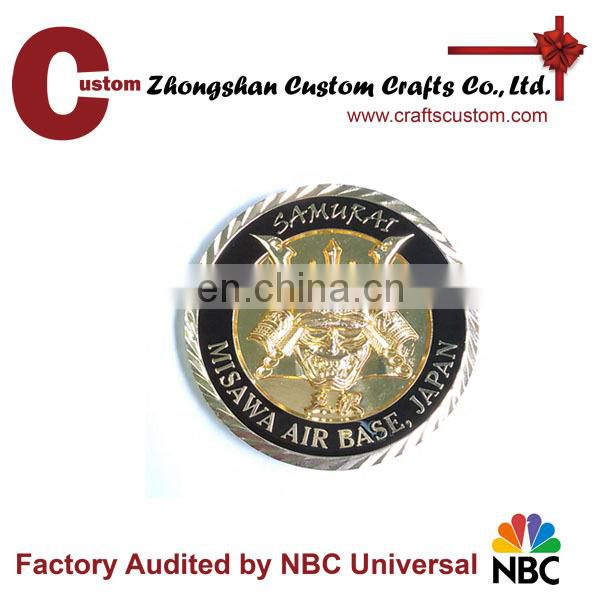 2014 antique cheap custom challenge coins made in China