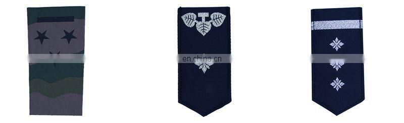 military patch shoulder rank