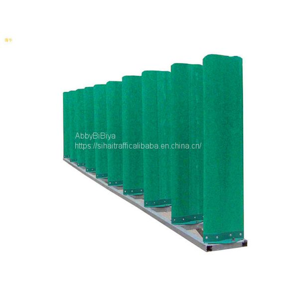 Road Safety Green Fiberglass Highway Anti Dazzling Board Image