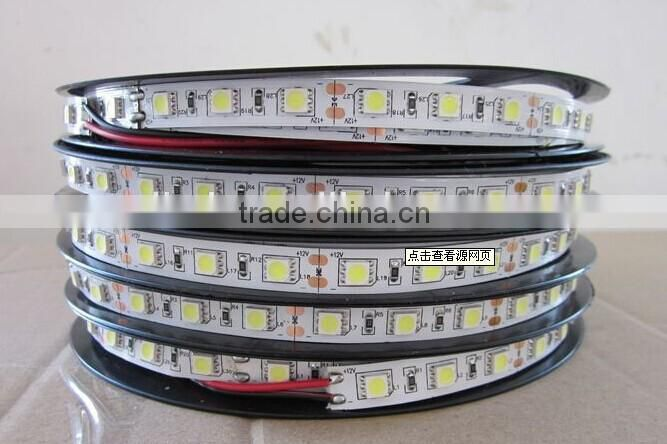 flexible black board pcb color changing double row led strip light
