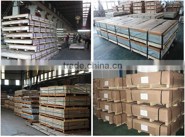 trapezoidal galvanized steel sheet