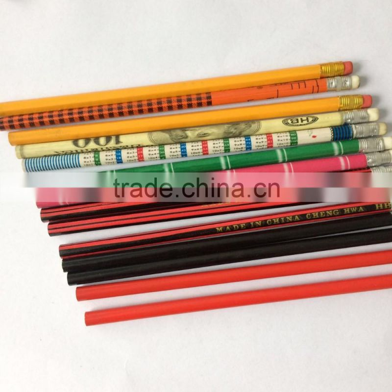 HB pencils to Africa market with eraser