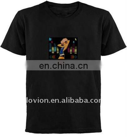 2011 el equalizer t-shirt el flashing t-shirt el panel t-shirt