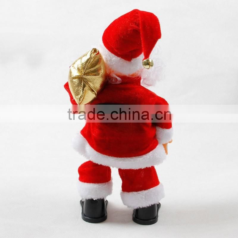 2016 wholesale factory directly sell xmas dancing & music toys as xmas gifts for child to christmas decor (AM-CO02)