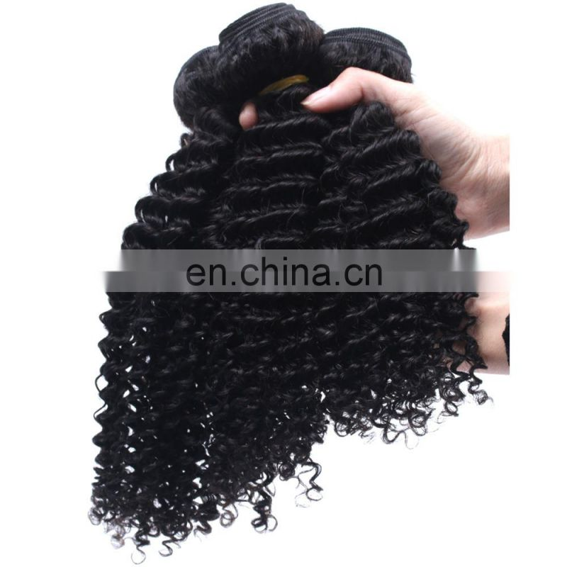 Raw indian curly hair hair extensions black women wholesale