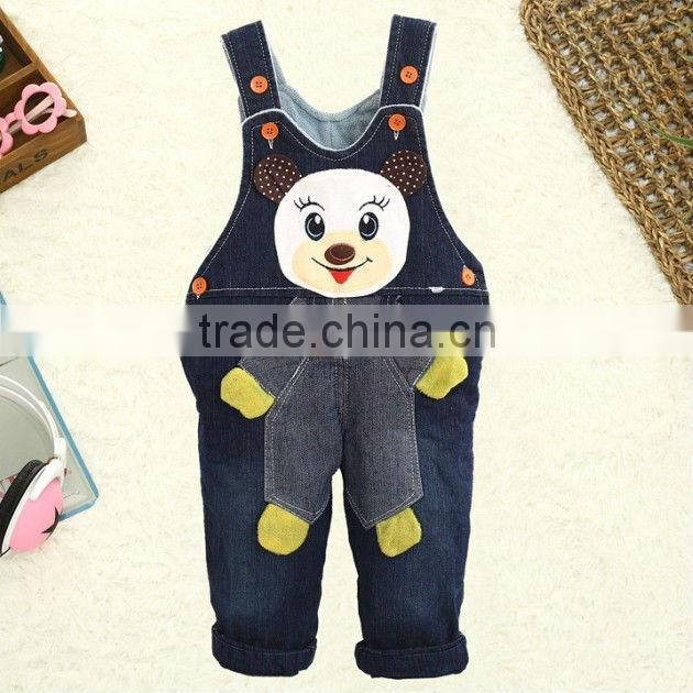 Korean Cartoon Design Kids Boys Jeans Pants