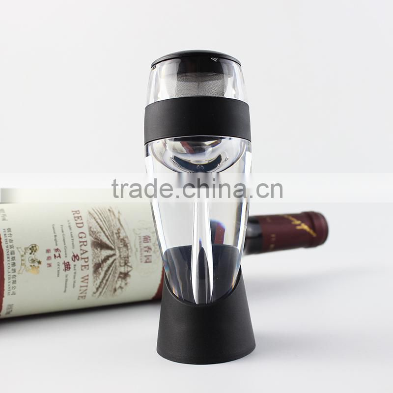 Wine Aerator & Spout Pourer by Bar Brat - Vastly Improve The Flavor of Red, White & Rose Wines | The Perfect Wine Decanter & Bar