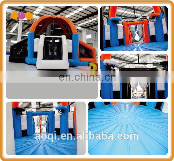 AOQI cheap price inflatable interactive ball game for sale