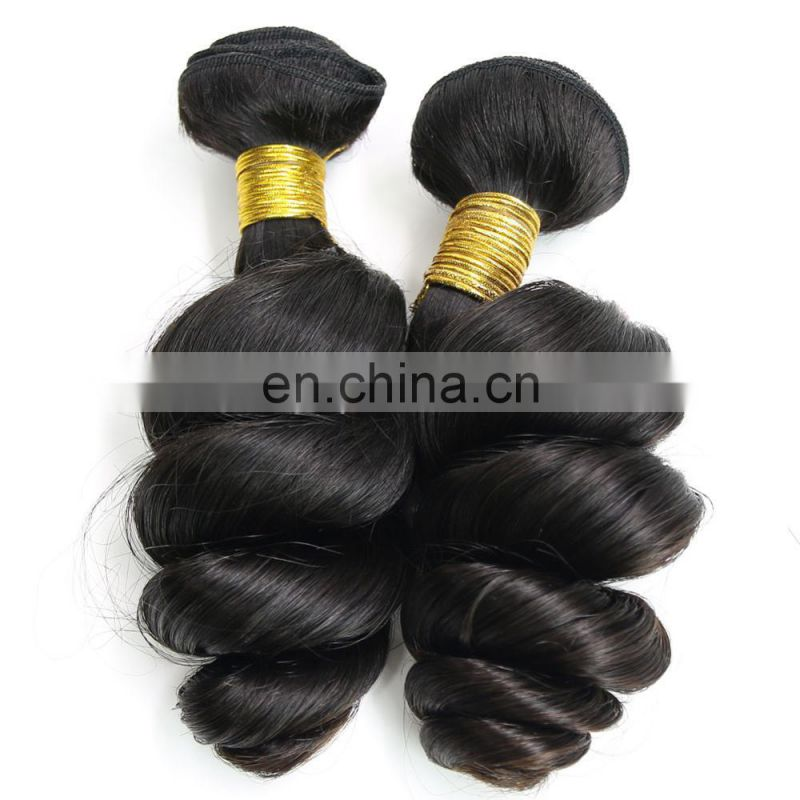 Youth Beauty Hair 2017 top quality 9A indian virgin human hair weaving in romance curl raw unprocessed hair