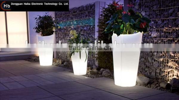 Led Light Up Flower Pot Pots Solar Lamp High Heel Image