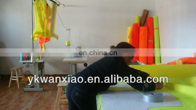 hi vis jacket with PU coating,high visibility jacket