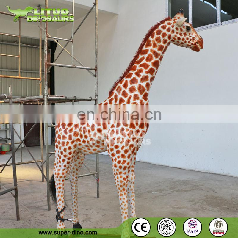 Life Size Animal Giraffe Statue For Sale