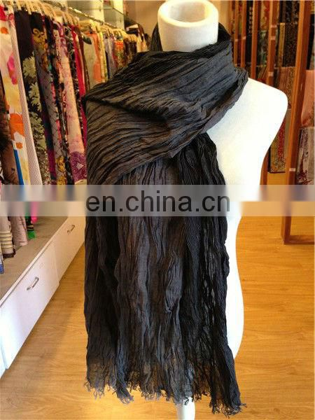 2013 2014 long fashion 100% plain wide cheap scarf cotton stocklot