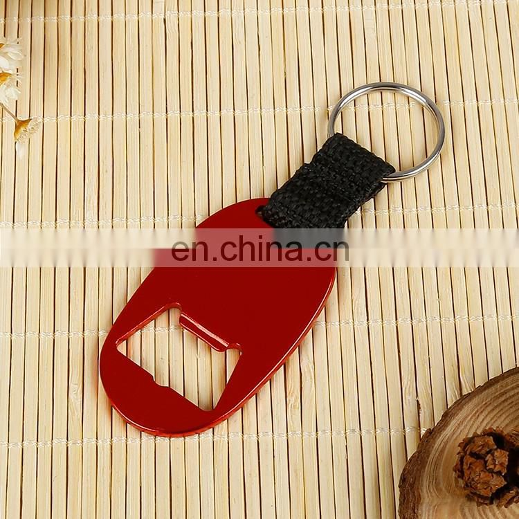 Most popular multifunctional Iron keychain bottle opener