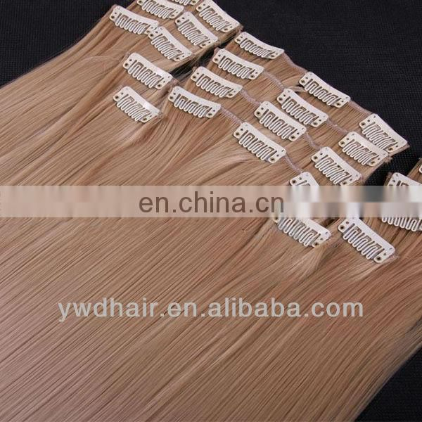 Wholesale - 100% Human Hair Extension Clips in Bang Hair Side Fringes 4 colors remark you want