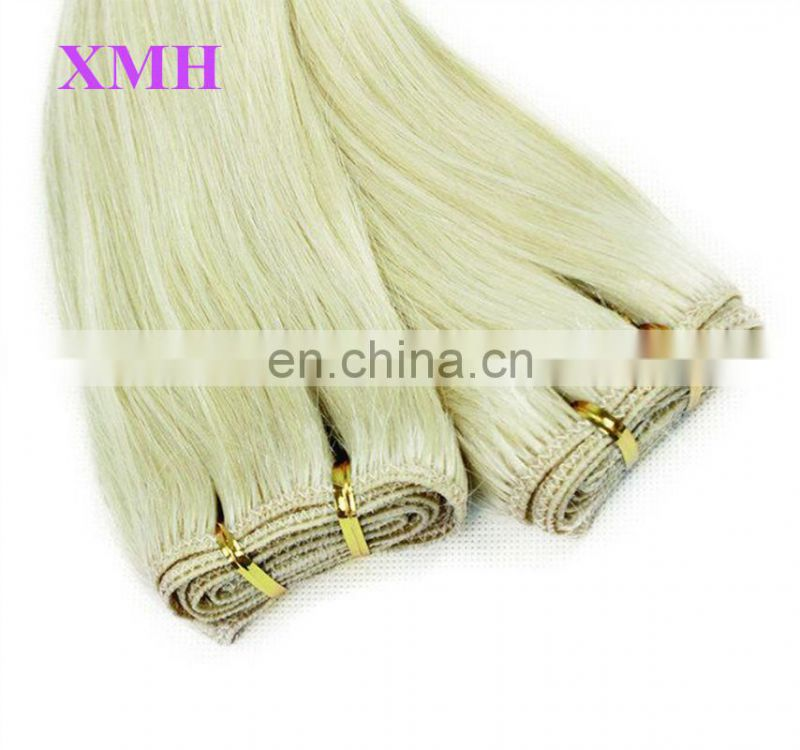 Hot Sale Premium Virgin remy human hair weft brazilian hair extension