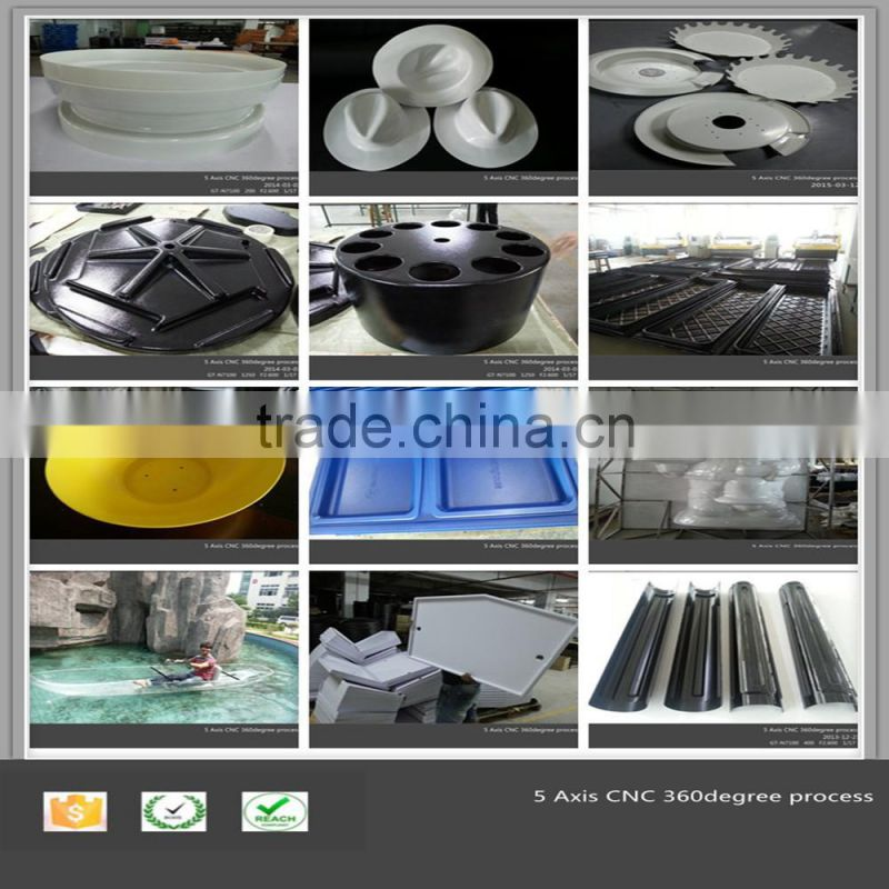 vacuum formed led lamp plastic parts