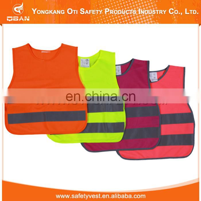 Hot selling safety high visibility custom Ansi standard Kids Hi Vis Safety Vest