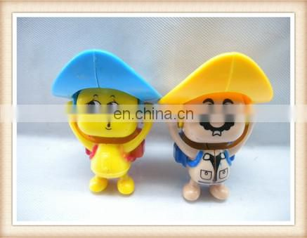 fun plastic mini famous cartoon face changing doll